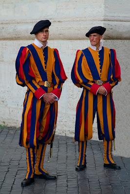 Members of the Swiss Guard - Vatican City