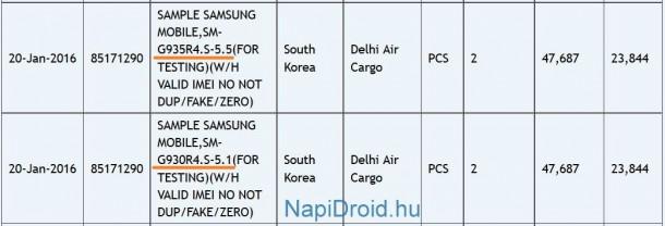 Ukuran layar Samsung Galaxy S7 dan S7 Edge sudah dikonfirmasikan! berikut adalah detailnya
