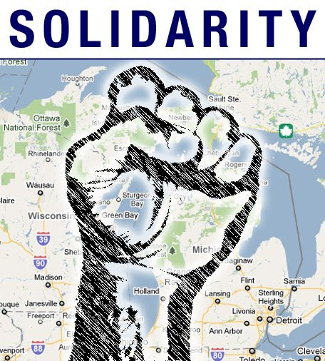 Solidarity with Michigan Workers!