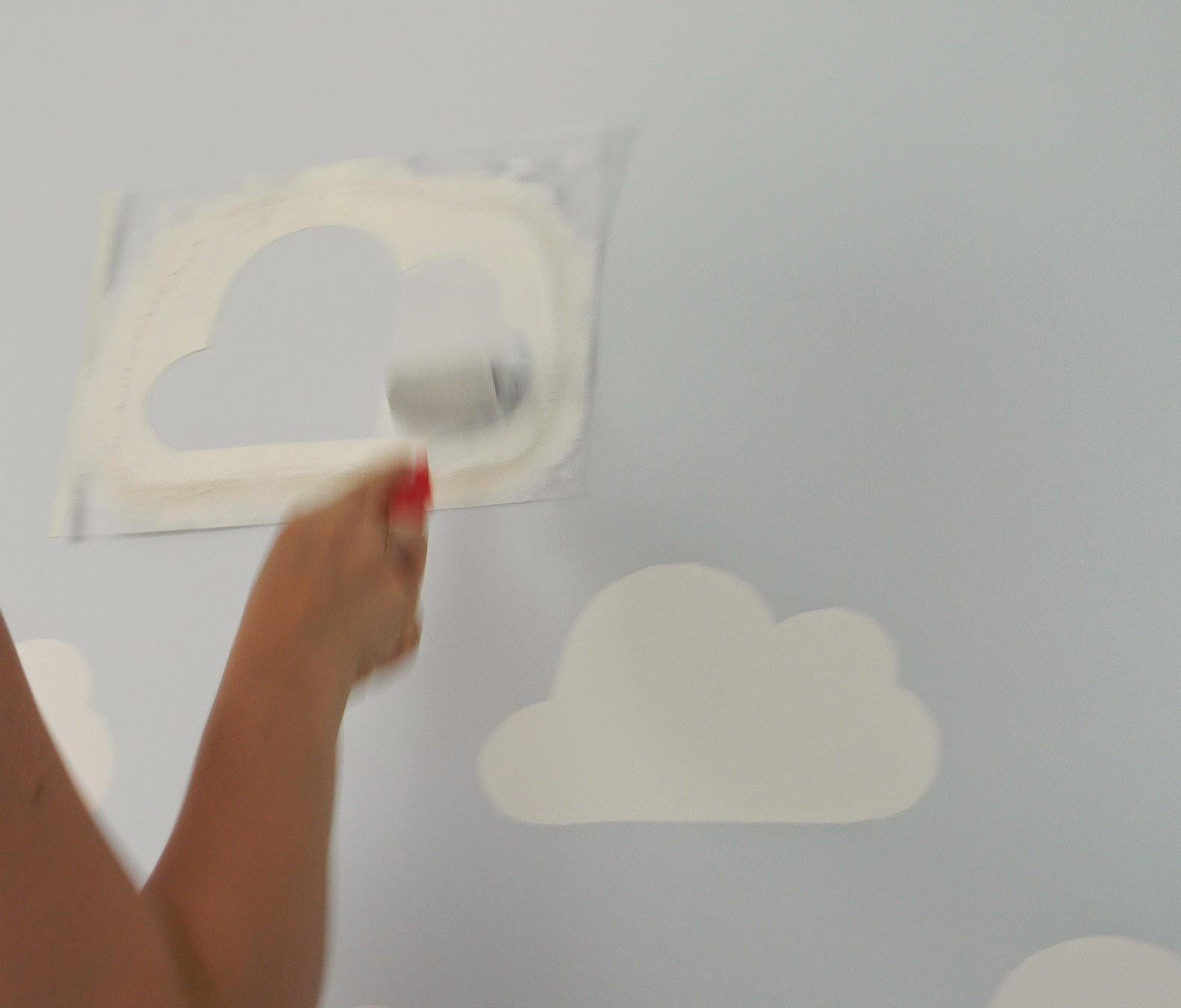 Decoracao Quarto De Bebe Rosa Seco ~   Como fazer um stencil para decora??o de paredes (quarto de beb?