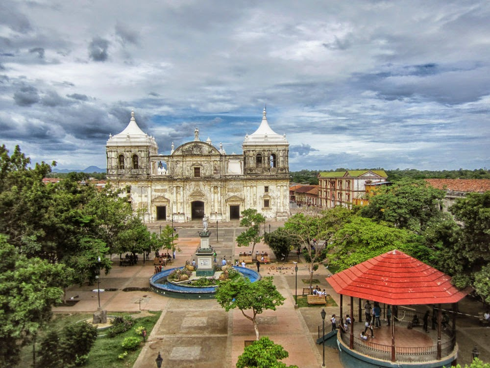 Plaza-Central-León-Nicaragua