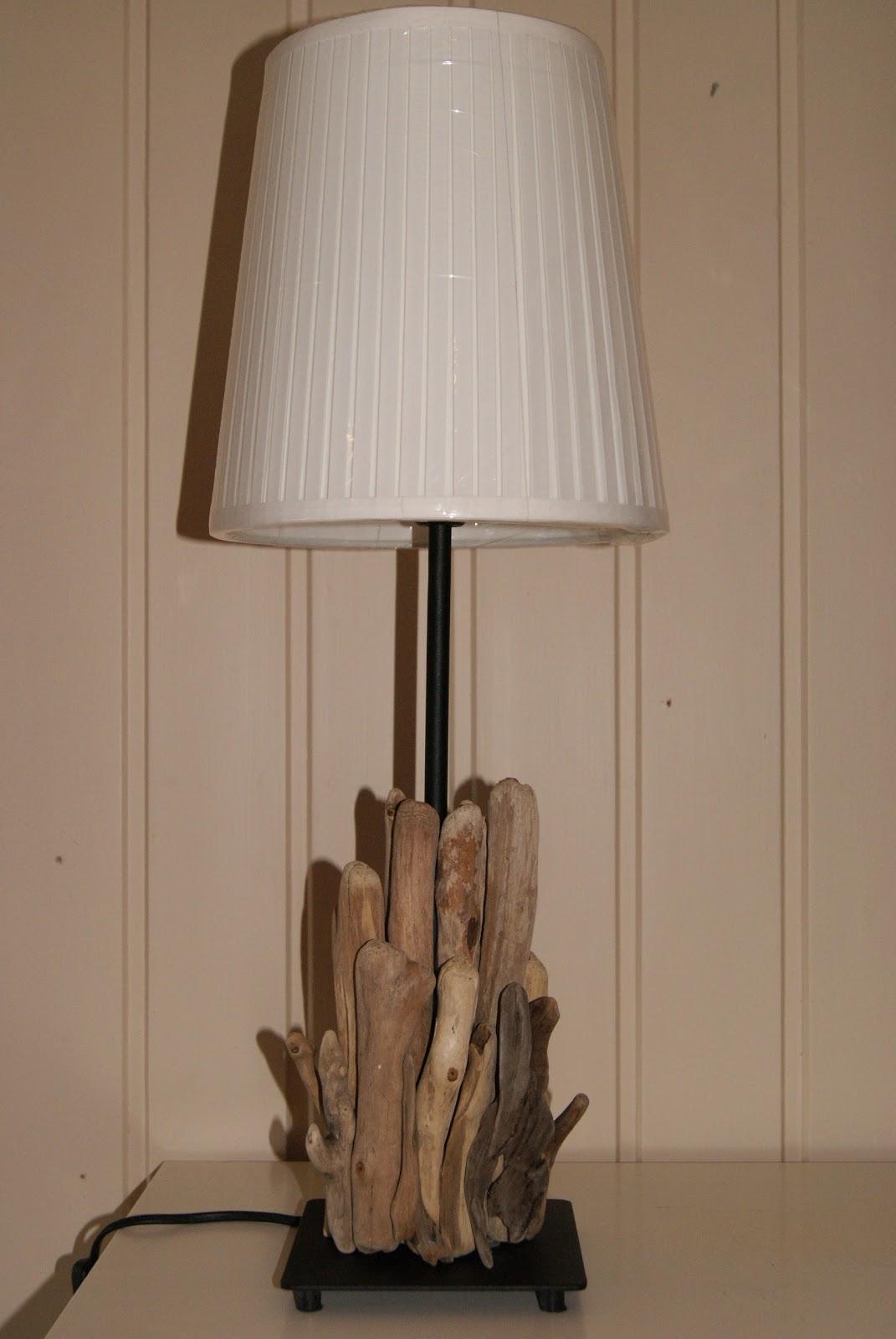 ♥ Svunnen tid ♥: Drivved lamper