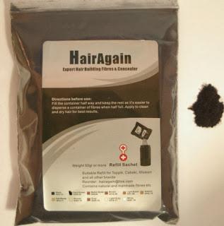 HairAgain Fibres 50g Refill Compatible For Toppik, Caboki etc - UK Stockist!!!