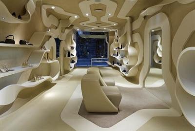 Stuart Weitzman, Zaha Hadid, flagship store, inauguración, Kate Moss,