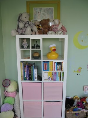 j's bookcase after