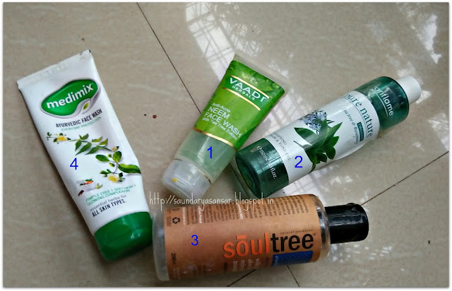 Bath and Body Product Empties