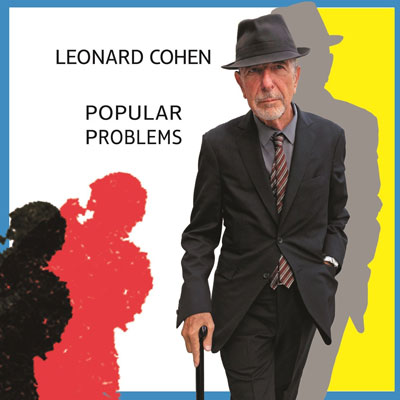 The 10 Worst Album Cover Artworks of 2014: 02. Leonard Cohen - Popular Problems
