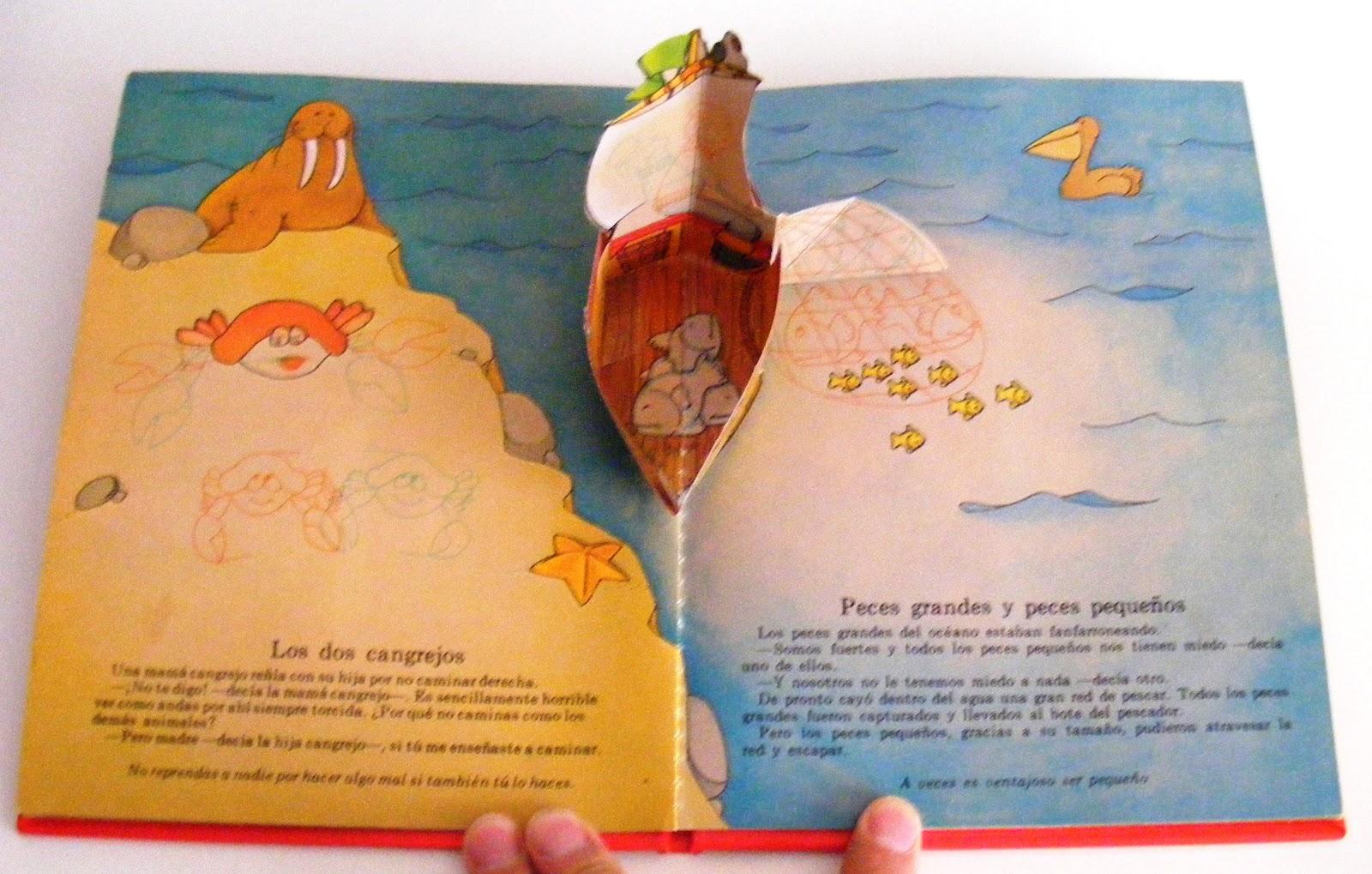 libros infantiles en 3d