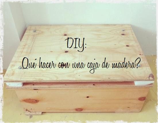 diy qu hacer con una caja de madera