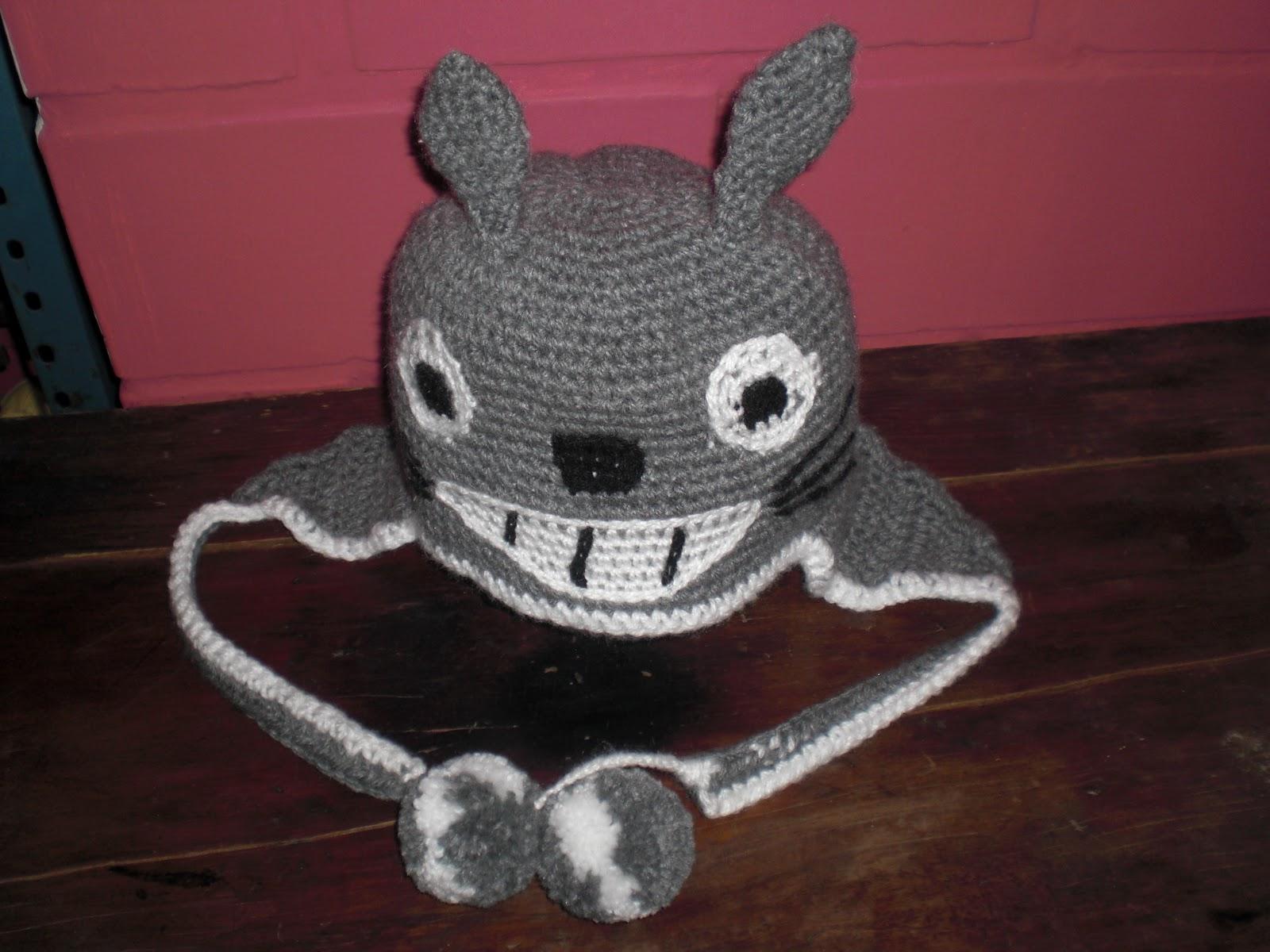 Para mi sobrina! (Gorro - Totoro)