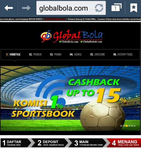 globalbola.com agen bola online sbobet terbaik terbesar dan terpercaya di indonesia