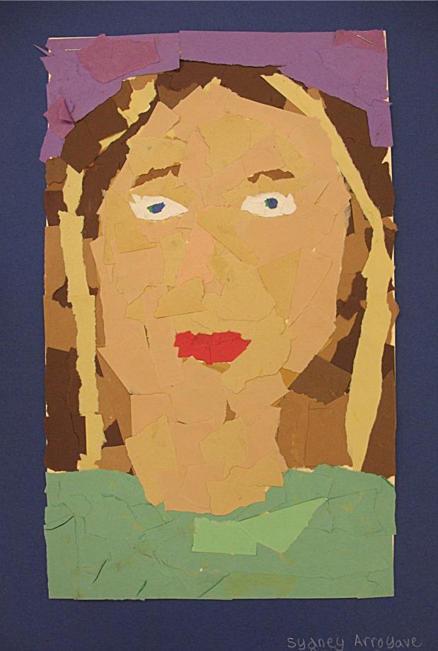 self portrait paper
