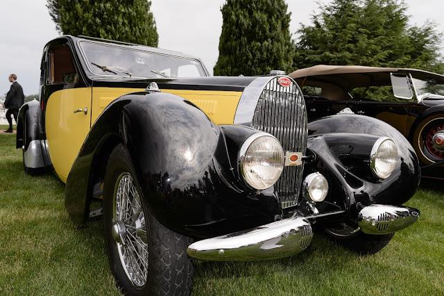 Walter Baran's 1938 Bugatti T-57 Ventoux Coupe