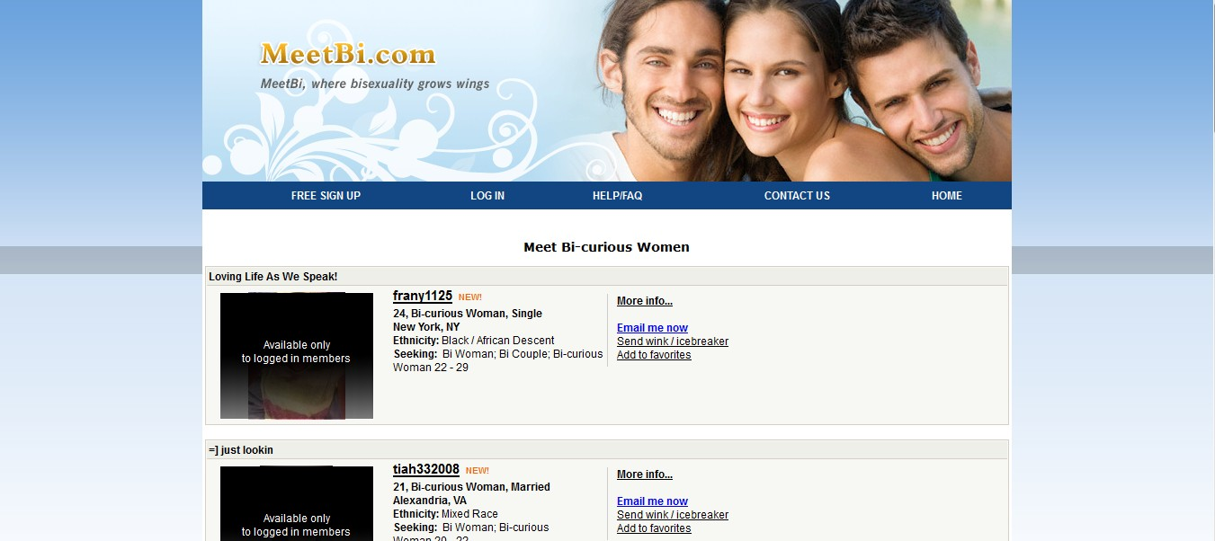 Curious dating sites