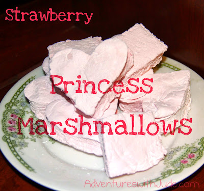 Strawberry Princess Marshmallows