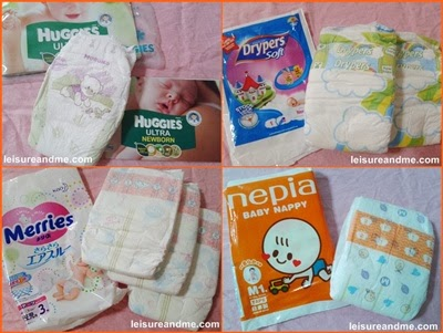 Free Diaper samples in Singapore