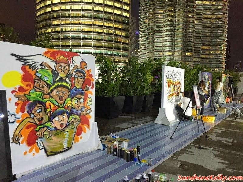 Nando's Art Initiative 2015, Live Graffiti Competition, Avenue K, Nando's, Graffiti Jam