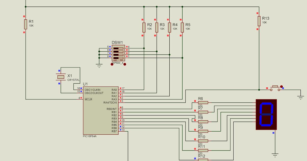 pic16f84a с микроконтроллером 1 знакомство