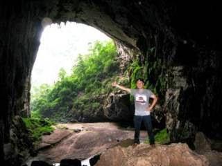 paradise cave tour 7km, hang en cave tour 2015, dark cave tour exploration, son doong cave tour 2016