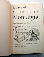 The essays of michel de montaigne dali