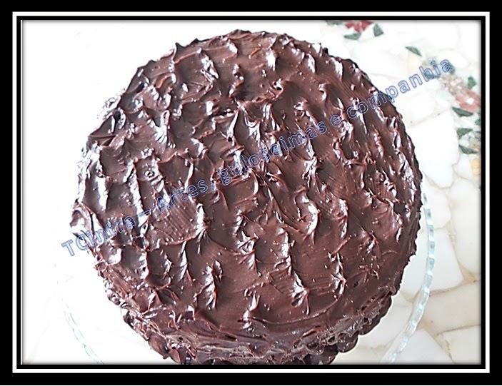 MOUSSE DE CHOCOLATE; GANACHE; FESTA; BOLO RECHEADO