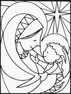 Christmas Images for Coloring, part 2