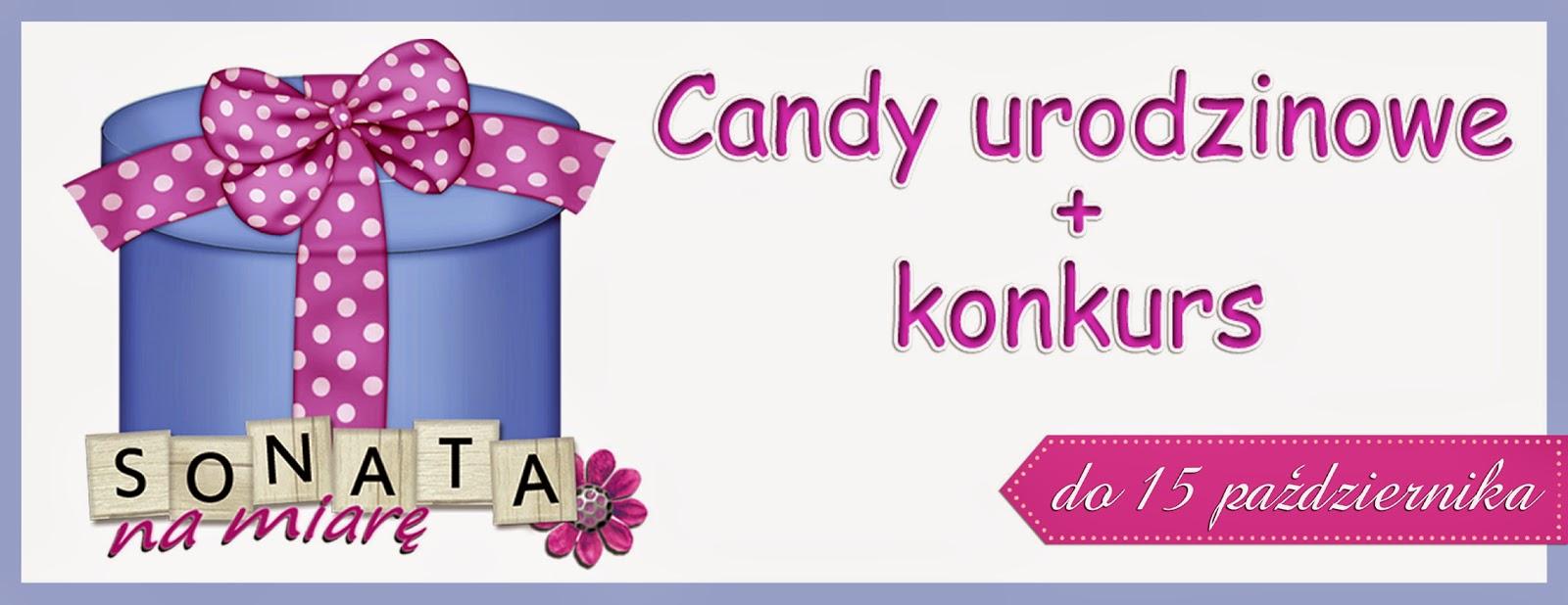 Wygrałam Candy u Sonaty na Miarę :)