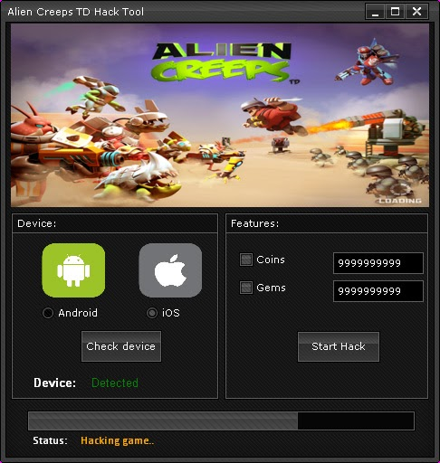 photo Alien Creeps TD Hack 6.5 download free for Android/Ios