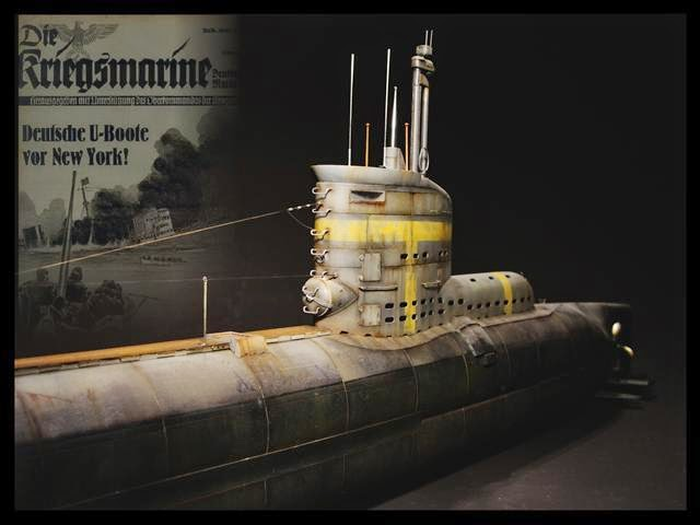 """German Submarine Type XXIII"""