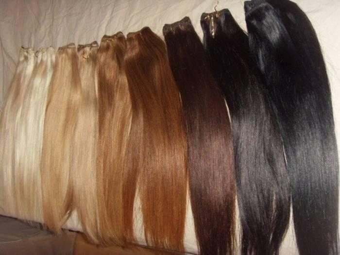 Искусственные волосы и их использование, искусственные пряди