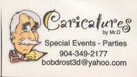 Caricatures by Mr. D