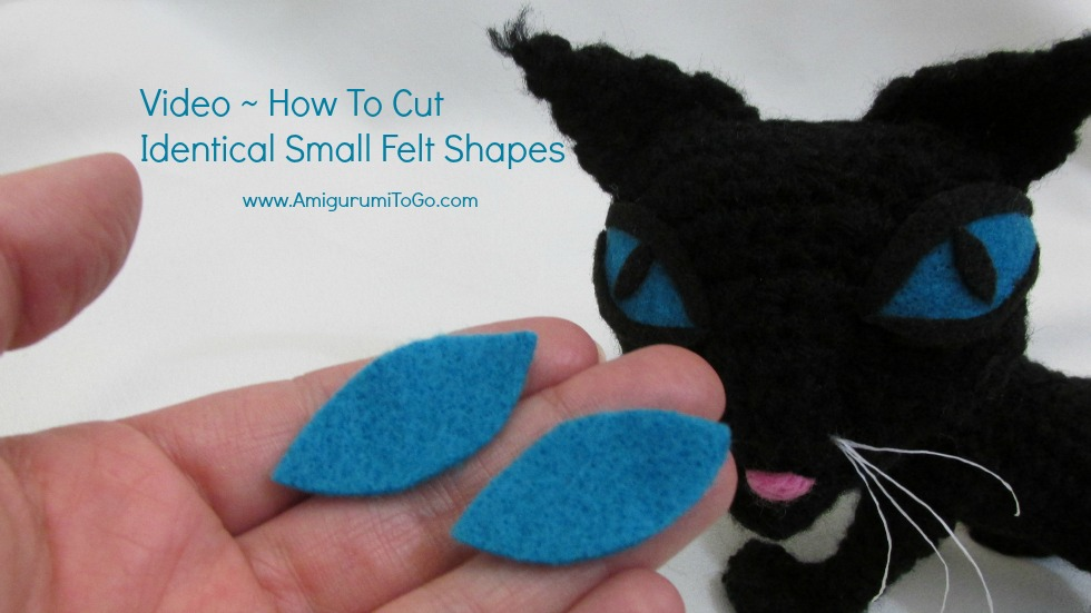 Eyes For Amigurumi : Video how to cut felt eyes for amigurumi ~ amigurumi to go