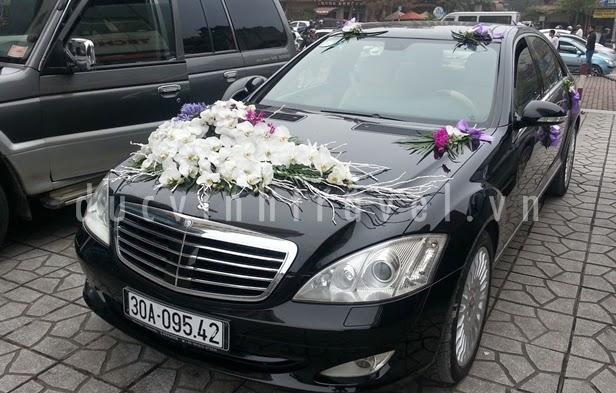 Địa chỉ cho thuê xe cưới Mercedes Uy tín 1
