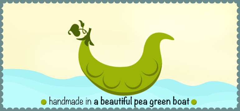 Handmade In A Beautiful Pea Green Boat