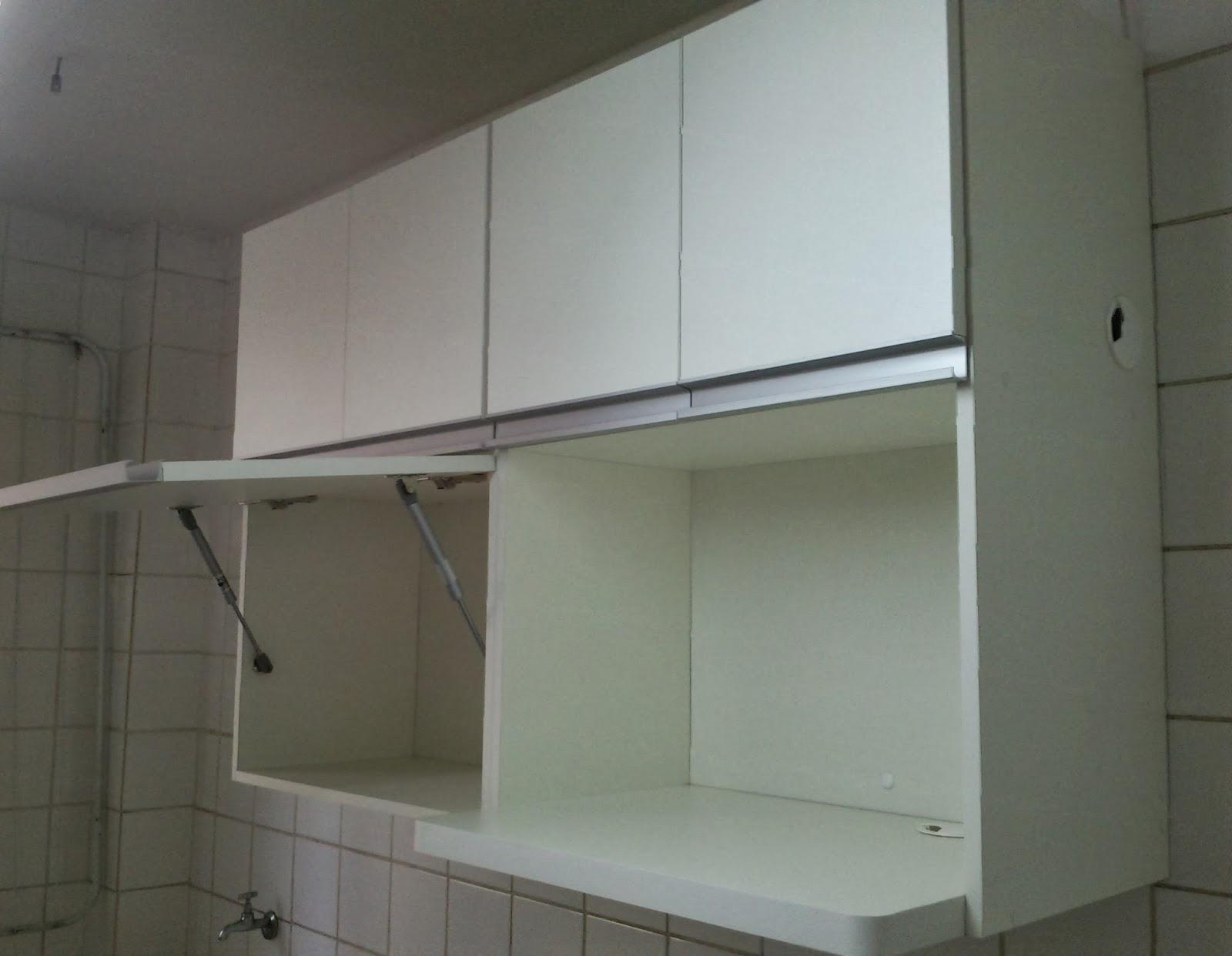 de Cozinha (Padrão Branco) Portas em 18mm Puxadores em Perfil de  #5B6D70 1600 1242