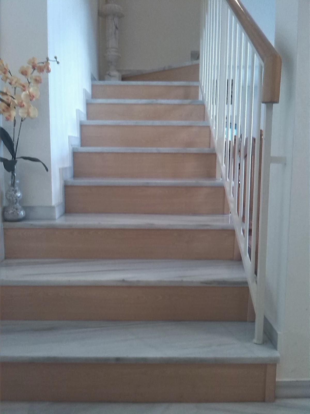 Nicolas rojas instalaciones tarima cocinas armarios for Como decorar una escalera de madera