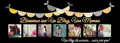 Un Blog, Une Maman: un blog de maman ...  mais pas que !