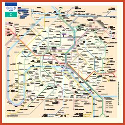 plan du métro - miniature