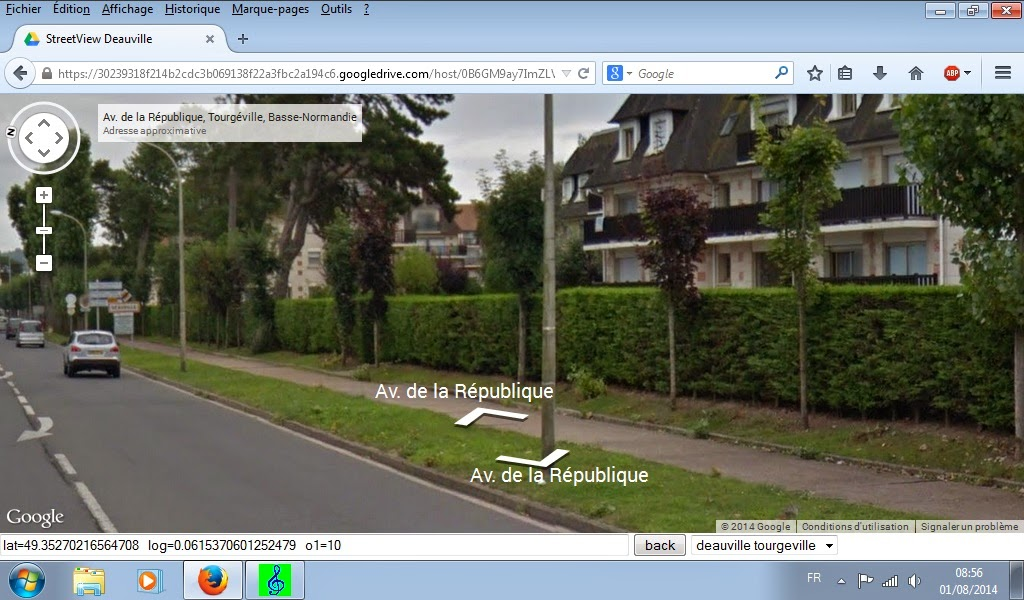 html5 + custom streetview at Deauville dans HTML5 html5