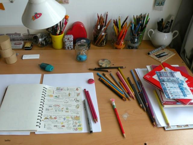 betitu's desk