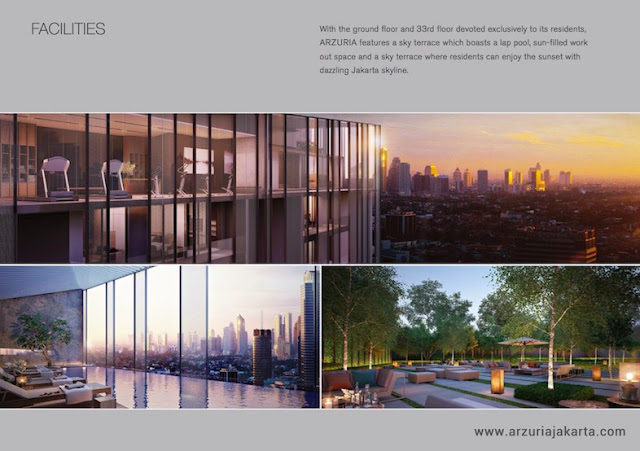 Arzuria Apartment Jakarta Selatan Facilities