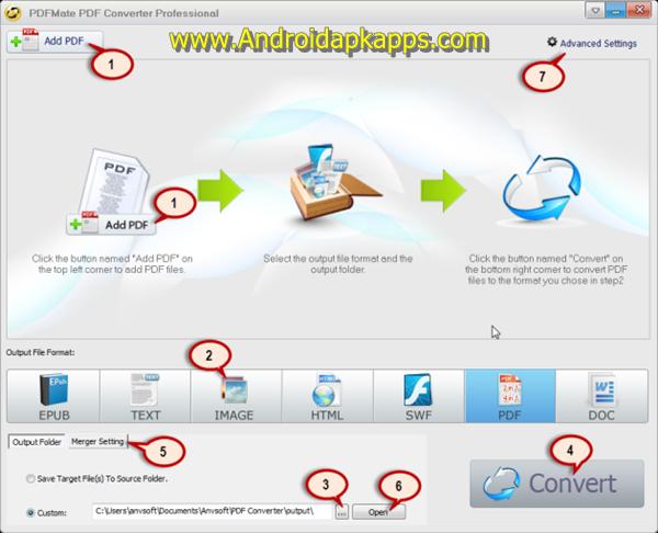Free Download PDFMate PDF Converter Pro v1.74 Full Crack