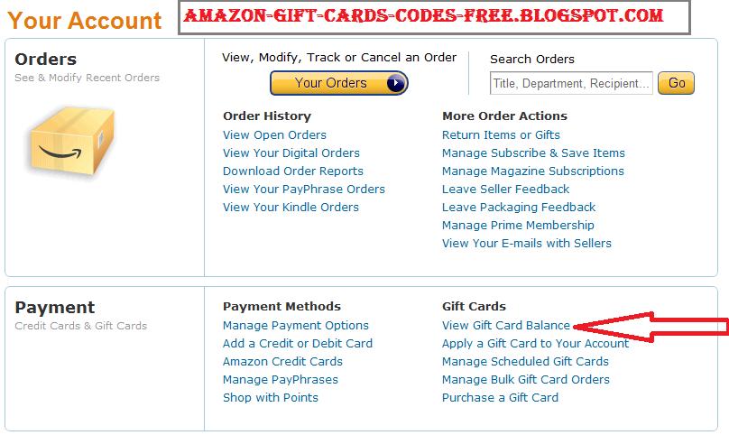 amazon gift coupons online