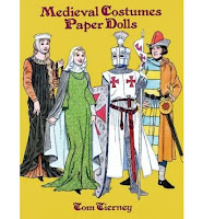 http://www.bookdepository.com/Medieval-Coustumes-Paper-Dolls-Tom-Tierney/9780486289250/?a_aid=HinterlandMama