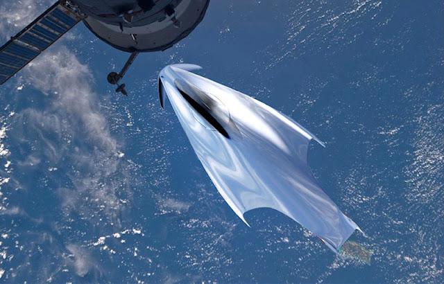 フェラーリのデザイナーが宇宙船をデザインするとこんなスタイルに!