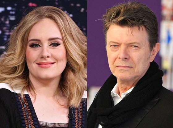 David Bowie le quitó el primer puesto a Adele en el Billboard 200.