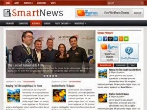 SmartNews - Free Wordpress Theme