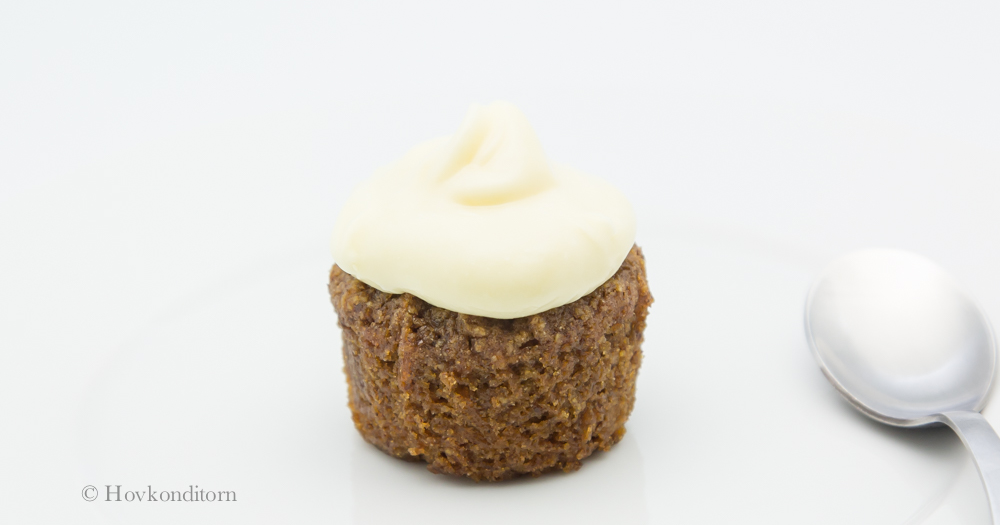 Small Gluten Free Carrot Cake Cream Cheese Icing