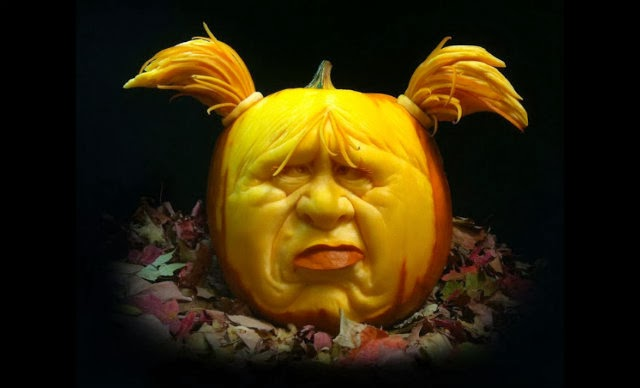 Most Expressive Pumpkin Face Sculptures Ever
