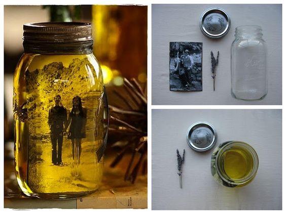 porta retrato vidro e óleo